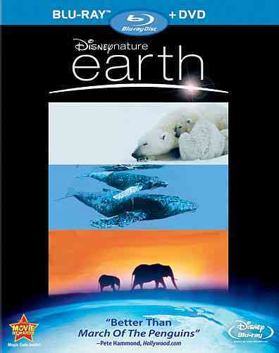 DISNEYNATURE:EARTH BY JONES,JAMES EARL (Blu-Ray)